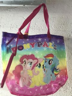 My little pony beach bag with sunglasses pouch