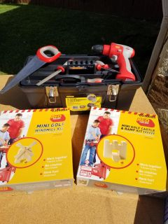 Tools set for kids (Real tools)