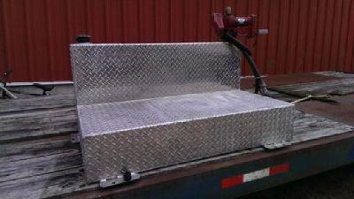 $550 OBO 75 gallon Aluminium tansfer tank with pump