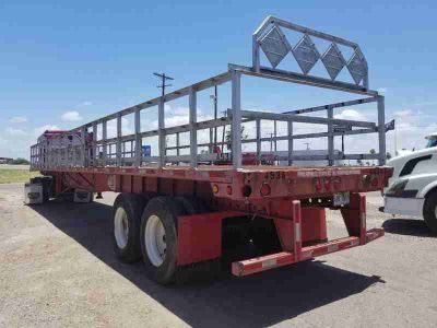 2007 Utility Flatbed Trailer