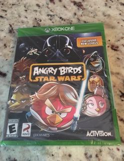 Xbox one Angry Birds Star Wars video game