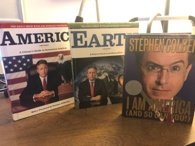 Daily Show / Colber Report books