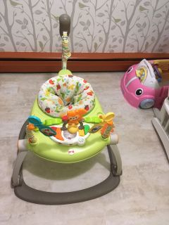 Fisher price foldable woodland bouncer