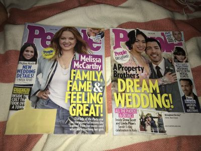 SET OF 2 MAY 2018 ISSUES OF PEOPLE MAGAZINE
