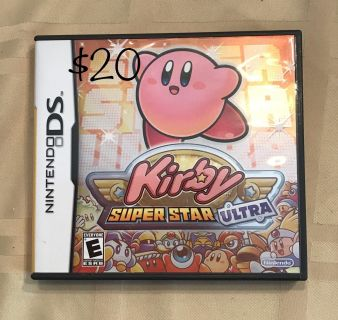 Kirby Super Star Ultra DS Game