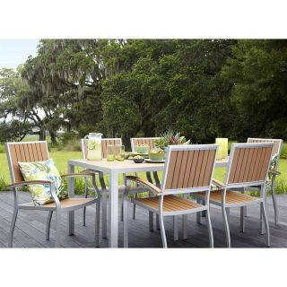 llen roth patio set 6 chairs and table Brand new cost 1400$