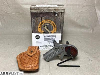 For Sale: Cobra CB38 w/Holster .38Spl Derringer