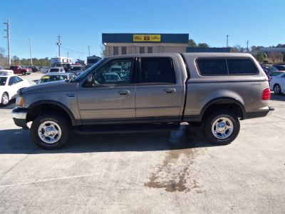 2001 Ford F-150 King Ranch (Gold)