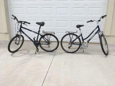 Giant Sedona Men's & Ladies' 21 Speed Comfort Bikes