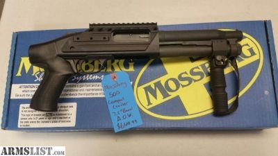 For Sale: New in box Mossberg 500 Compact Cruiser 12ga