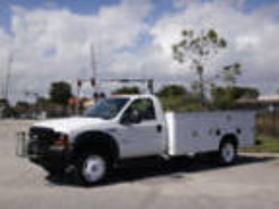 2006 Ford Super Duty F-450 DRW Cab-Chassis Service Utiliity Body Truck 2006 Ford