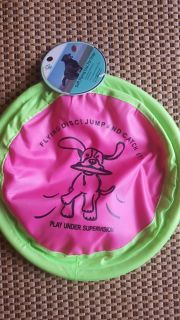 NWT. Soft flying disk for dogs.