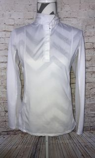 Ariat showstopper size small show shirt