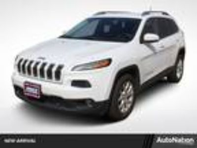Used 2015 Jeep Cherokee Bright White Clearcoat, 62K miles