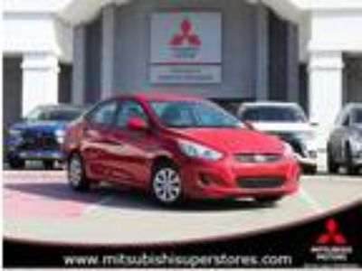 Used 2017 Hyundai Accent RED, 41.9K miles