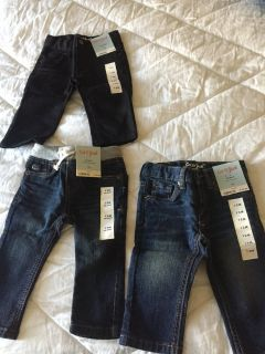 Brand new Cat & Jack baby jeans