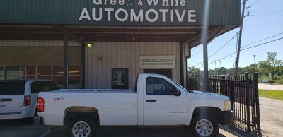 2008 Chevrolet Silverado 1500 Work Truck (White)