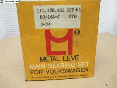 NOS Metal Leve Main Bearings > Std .040 .040