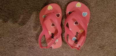 6 toddler girls flip flops