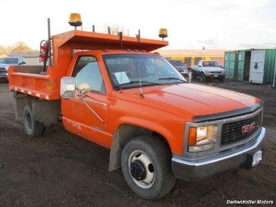 1998 GMC 3500 Regular Cab DUMP Truck 4x4