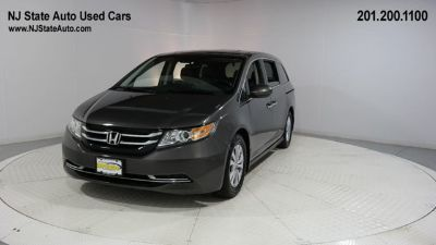 2014 Honda Odyssey EX-L w/DVD (modern steel metallic)