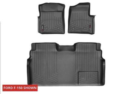 Weather Tech floor liners for 2010-2014 Ford F-150 crew cab
