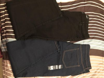 2 pairs of new basic edition size 12 jeans