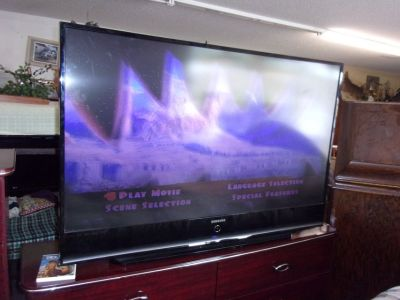 "Samsung 60"" Flat Screen Television"