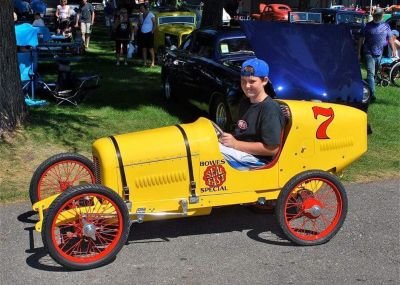 1931 Miller Race Car Replica & Custom Aluminum Trailer