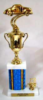 Buy Car & Bike Show Trophies - Free Engraving - 14 inch tall trophy motorcycle in Fullerton, California, US, for US $12.49