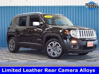 2016 Jeep Renegade Limited (black)