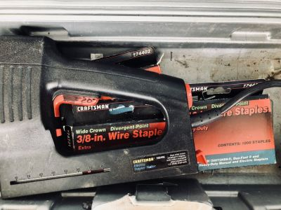 Electric Dual Staple Gun