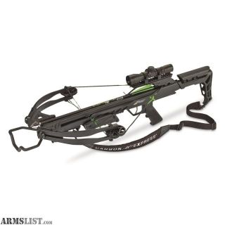 For Sale/Trade: Carbon Express X-Force Blade Crossbow Package
