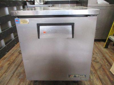 True TUC-27 S/S Undercounter Refrigerator RTR#7121852-13