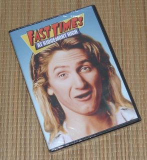 NEW Fast Times At Ridgemont High DVD Widescreen SEALED Sean Penn