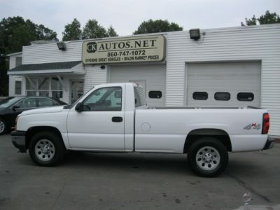 2006 Chevrolet Silverado 1500 Work Truck (Summit White)