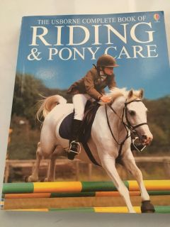 Usborne complete book of riding and pony care