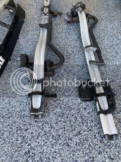 FS: OEM Roof Bars & Thule Criterium Bike Racks & Thule Airscreen
