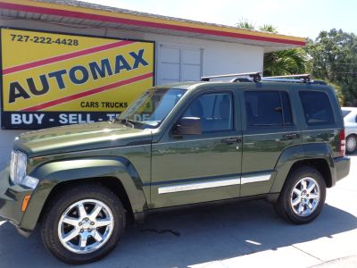 2008 Jeep Liberty Limited (Green)