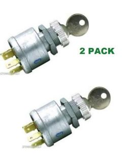 Buy 2 PACK EZGO 4 PRONG KEY IGNITION LIGHT SWITCH 4 KEYS 81 + GAS & ELEC GOLF CART motorcycle in Oxford, Massachusetts, United States, for US $27.98