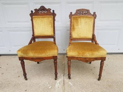 Beautiful Set of Antique Chairs