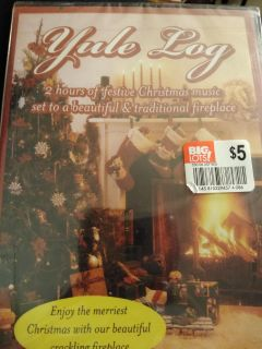 Brand new still wrapped musical and fireplace DVD