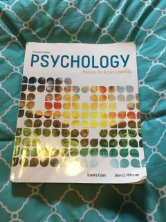 13th Edition Psychology: Modules for Active Learning [Book]