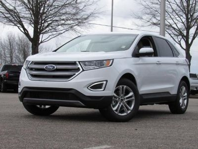 2018 Ford Edge SEL FWD (Oxford White)