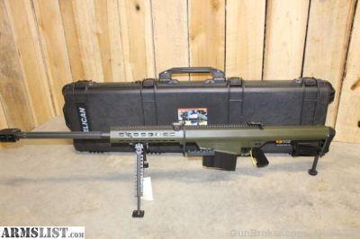For Sale: Barrett M82A1 50 BMG