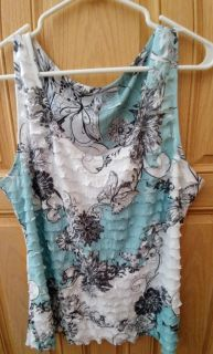 LIKE New- ADORABLE Light Weight Flowy Tank
