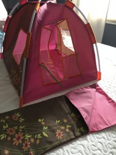 American Girl /Our Generation Tent