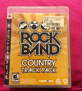 RockBand Country Track Pack for ps3