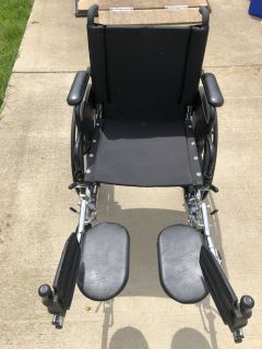 Wheel Chair Seat is 19 inches wide