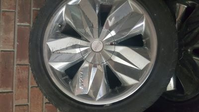 Rims/tires (18 inch, 5 lug pattern)